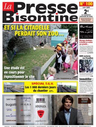 Couverture La presse bisontine n°100