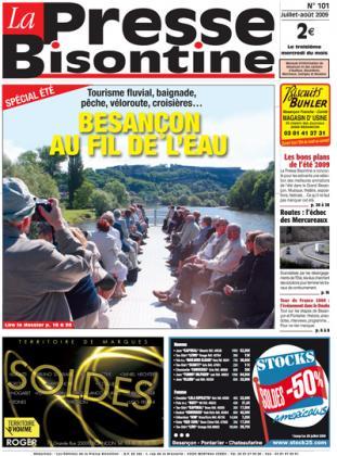 Couverture La presse bisontine n°101