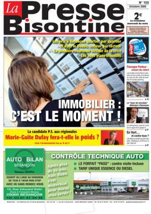 Couverture La presse bisontine n°103