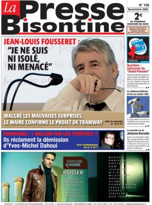 Couverture La presse bisontine n°104