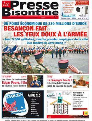 Couverture La presse bisontine n°142