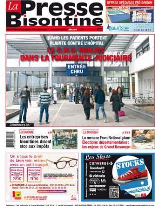 Couverture La presse bisontine n°164