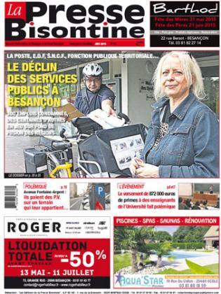 Couverture La presse bisontine n°166