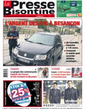 Couverture La presse bisontine n°168