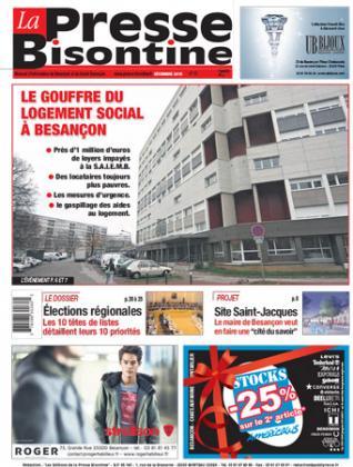 Couverture La Presse Bisontine n°171