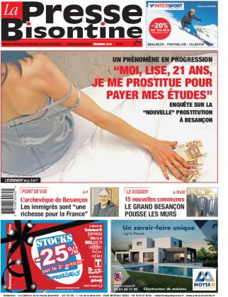 Couverture La Presse Bisontine n°182