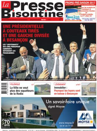 Couverture La Presse Bisontine n°187