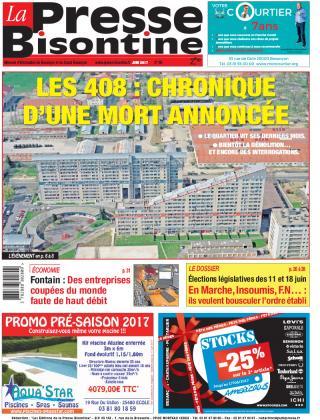 Couverture La Presse Bisontine n°188