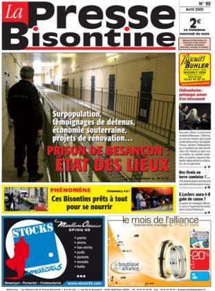 Couverture La presse bisontine n°98