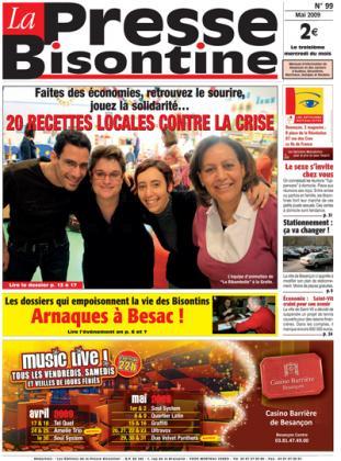 Couverture La presse bisontine n°99