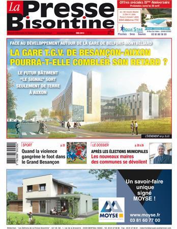 Couverture La presse bisontine n°154