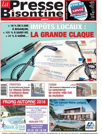 Couverture La Presse Bisontine n°180
