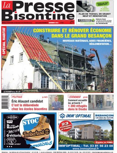 Couverture La Presse Bisontine n°181