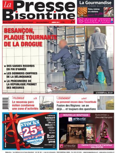 Couverture La Presse Bisontine n°183