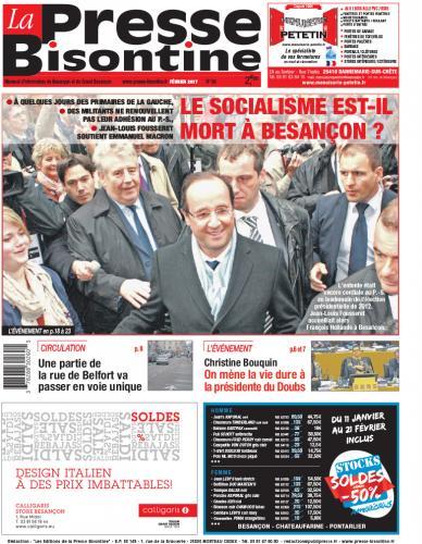 Couverture La Presse Bisontine n°184