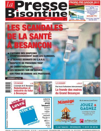Couverture La Presse Bisontine n°186