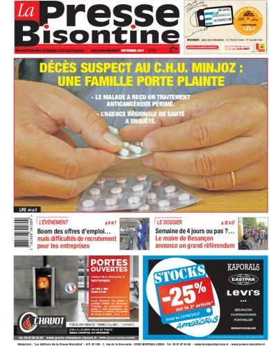 Couverture La Presse Bisontine n°190